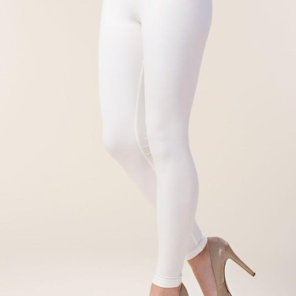 9b90939b6adad Vocal Pants | Nwt Skinny Slimming Leggings Offwhite Sxl | Poshmark